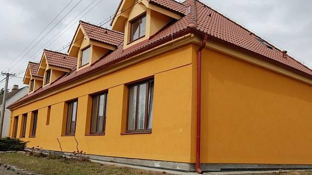 Nové byty v Kozárovicích.