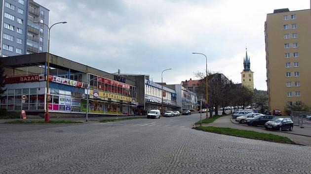 Plzeňská ulice v Příbrami.