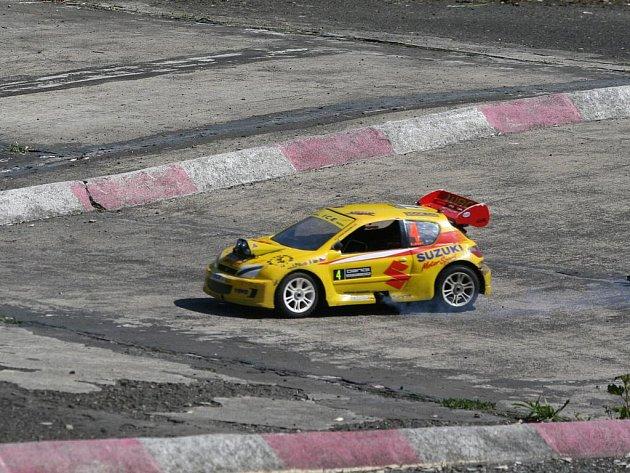 První závod MČR Rally Scale v Příbrami.