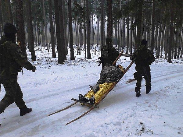 Zimní přežití vBrdech.