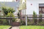 Dům zavražděného muže v Březnici.