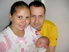 V pátek 16. srpna maminka Olga a tatínek Tomáš z Příbrami poprvé sevřeli v náručí své první děťátko – synka Tomáše Budějského, který má z toho dne u jména zapsánu váhu 3,24 kg a míru 50 cm.