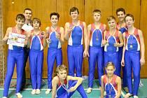 Kluci ze Sokola Příbram vybojovali první místo a postup na Přebor ČOS.