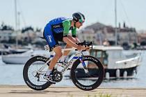 Lídr příbramského cyklistického týmu Martin Boubal na soustředění v Chorvatsku.
