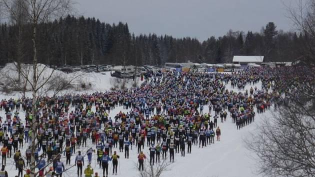 Vasův běh 2017.