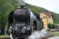 Parní lokomotiva Ušatá - ilustrační foto