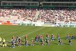 Zápas 29. kola FORTUNA:LIGY 1. FK Příbram - Viktoria Plzeň 1:1.