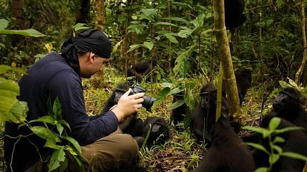 Petr Bambousek v džungli.