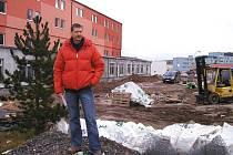 Jaromír Smrčina, majitel bytového domu v příbramské Seifertově ulici.