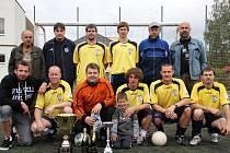 Union Brdy - vítěz 1. Mongeo ligy malé kopané v sezoně Jaro 2010.