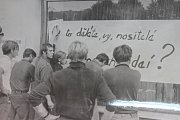 21. srpen 1968 v Sedlčanech.