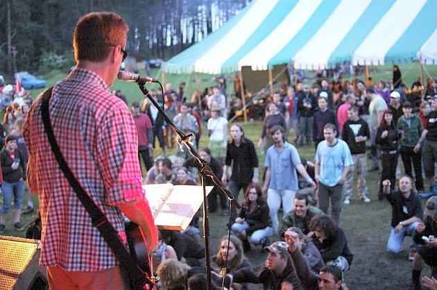 Rockový festival Zelesa.