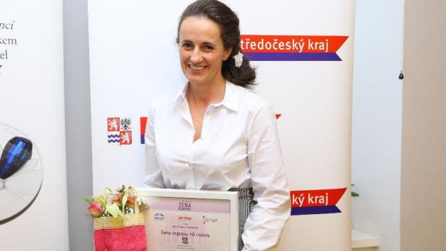 Žena regionu Jana Puklová Havelková.