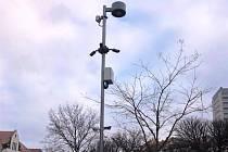 Nové kamery na Mírovém náměstí v Dobříši.