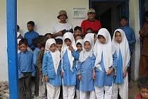 Škola v pákistánských horách.