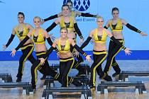 Dívky ze Sportklubu Oxygen, které vybojovaly na MS v Rusku bronzové medaile.