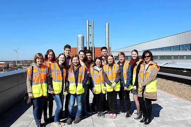 SKUPINA studentů Gymnázia Příbram se ve dnech 7.  až 15.dubna zúčastnila mezinárodní konference projektu Erasmus + v německém Aurichu.