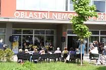Hudební festival Antonína Dvořáka v areálu Oblastní nemocnice v Příbrami.