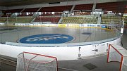 Velká hala příbramského zimního stadionu.