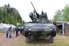 Na letošních Dnech pozemního vojska bylo tradiční defilé historické i současné techniky, akční ukázky i představení nové techniky.