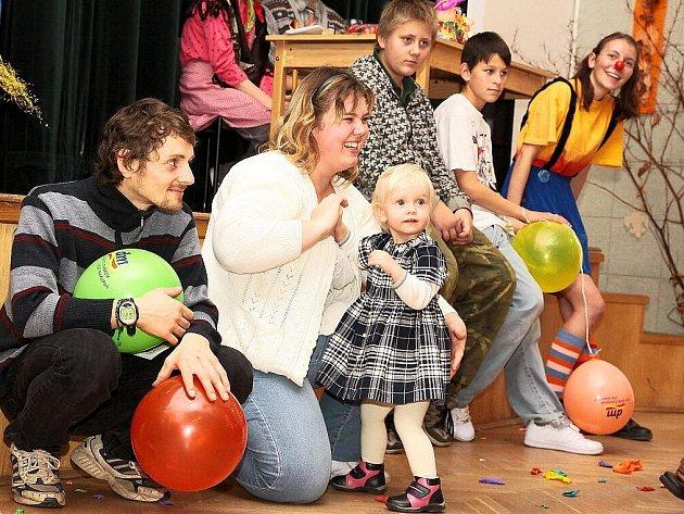 Dětská párty v Rožmitále.