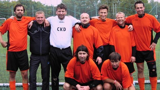 Vítězné družstvo 13. ročníku Dobříšského korbelu.