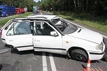 Nehoda u Hájů.