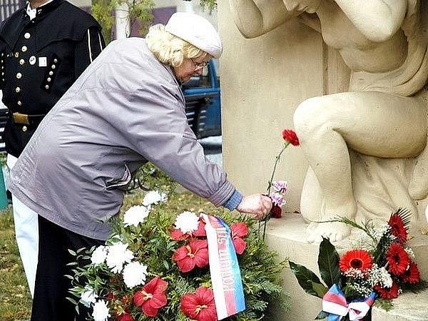 Uctění památky Příbramáků padlých za první světové války
