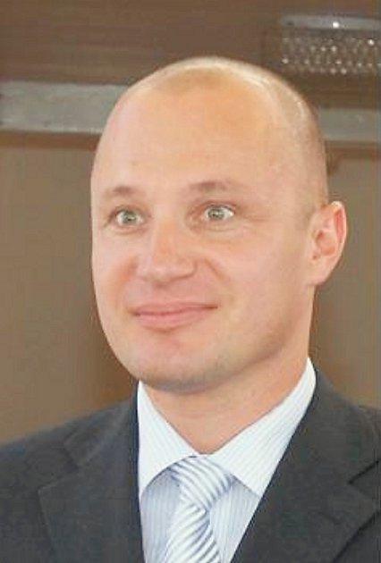 Eduard Koranda, ředitel společnosti Zeman - maso, uzeniny vPříbrami.