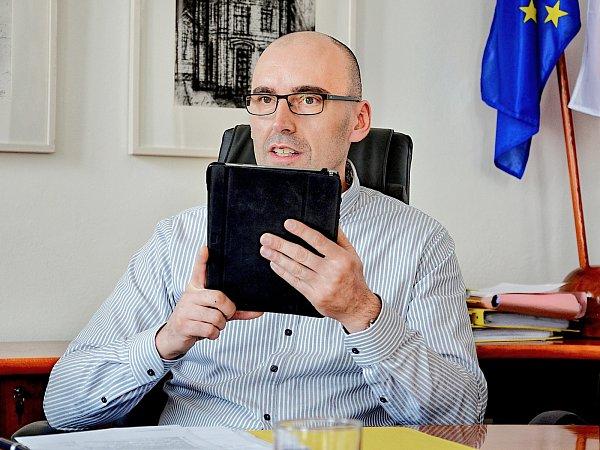 Příbramský místostarosta Václav Švenda(TOP 09).