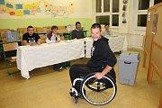 Volit přijel i mistr světa v Half Ironmanu Jan Tománek.