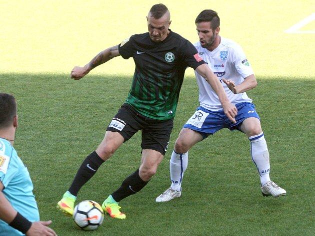 Z utkání 1. kola FNL: Příbram - Znojmo (0:0).