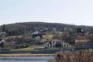 Kamýk nad Vltavou - chatová osada.