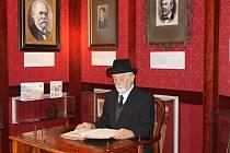V pondělí 8. října zavítal mezi žáky rožmitálské Základní školy sám první prezident Tomáš G. Masaryk.