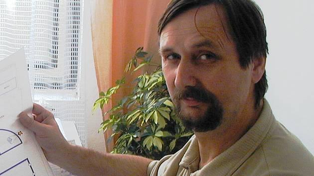 Ředitel Sportovních zařízení města Příbrami Pavel Pikrt