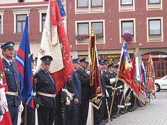 Oslavy 130. výročí založení sboru dobrovolných hasičů v Březnici.