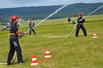 Na netradiční hasičské soutěži se sešli účastníci i příznivci v sobotu 23. června.