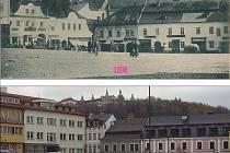 Příbram - náměstí T. G. Masaryka