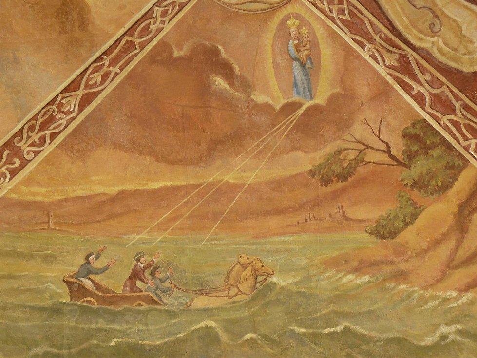 Sto svatohorských milostí: obraz číslo 99.
