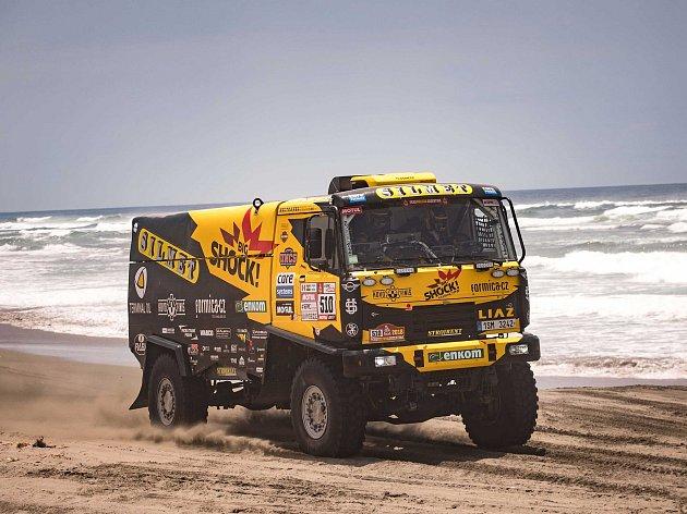 Pátá etapa Dakaru 2018