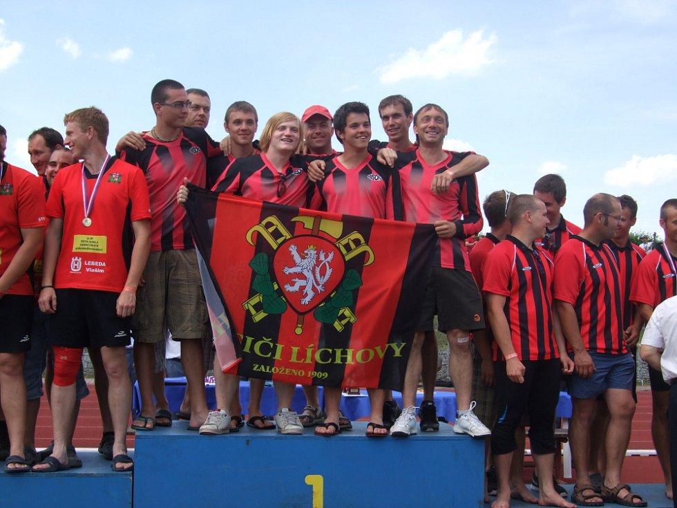 Krajská soutěž v požárním sportu v Mladé Boleslavi.