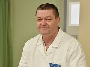 Primář příbramské chirurgie Jiří Svoboda.