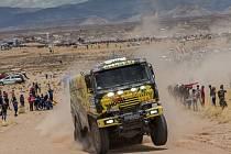 Martin Macík na Rallye Dakar 2016.