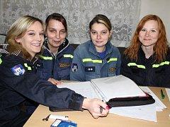 Dobrovolní hasiči z Kosovy Hory.