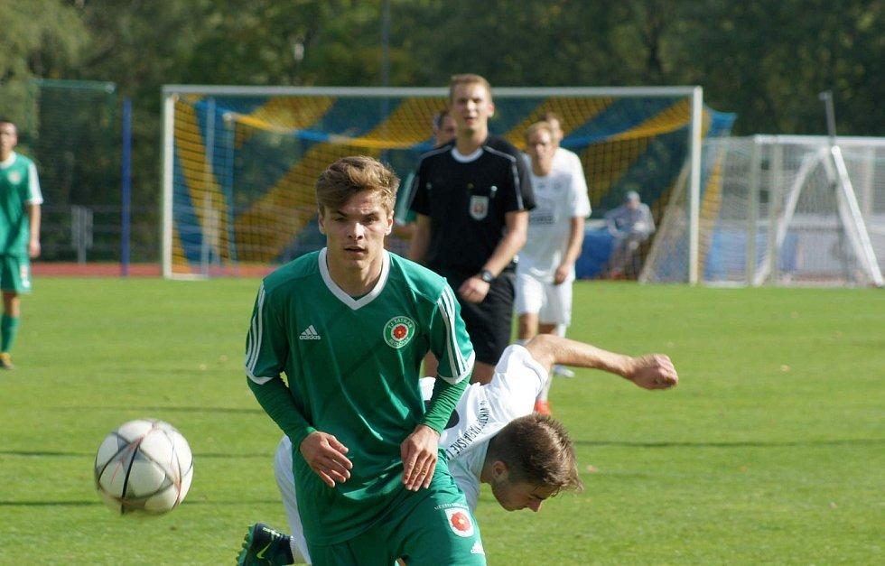 Zápas 7. kola Divize A 2018/2019 Mariánské Lázně - Tatran Sedlčany 2:1 (1:0).