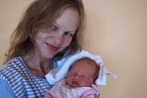 Eliška Lukešová, první štěstíčko maminky Zuzany a tatínka Josefa ze Sudovic, spatřila poprvé světlo světa v pondělí 26. prosince a v ten den vážila 3,27 kg a měřila 51 cm.