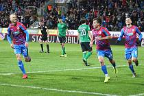 Zápas 22. kola FORTUNA:LIGY Viktoria Plzeň - 1. FK Příbram
