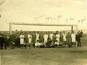 Z historie SK SPARTAK Příbram. Rok 1925.