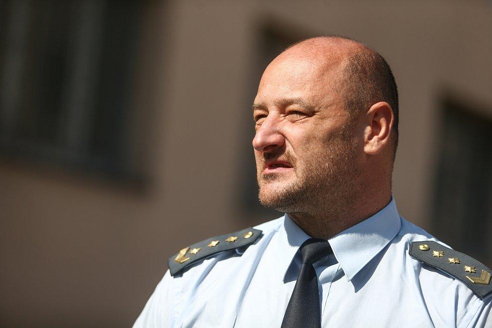 Věznice Příbram v sobotu 24. července 2021. Ředitel Věznice Příbram.