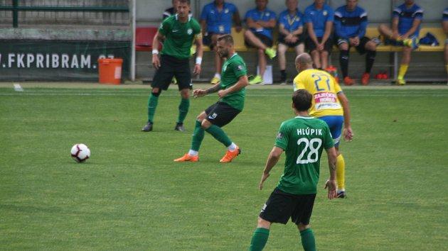 1. kolo FORTUNA:LIGY 2018/2019 1. FK Příbram - FK Teplice 1:1 (1:0).
